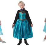 Anna kjole eller Elsa kostume – udklædning i Frost universet