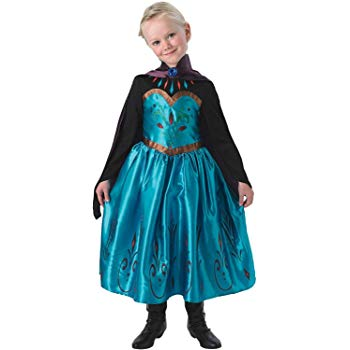 elsa kroningskjole elsa kjole elsa kostume kroning elsa udklædning fastelavnskortume frozen kjole