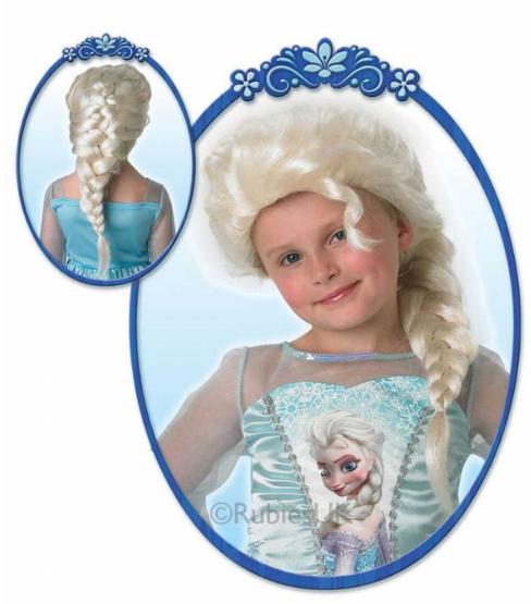 elsa paryk frost elsa hår elsa fletning tilbehør til elsa kostume