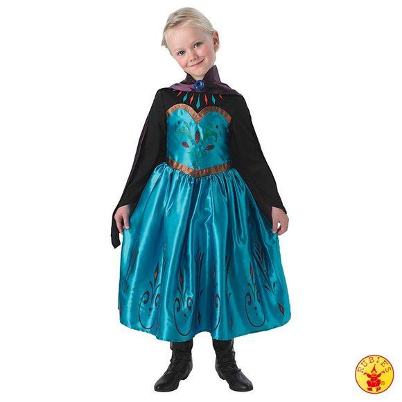frost kjole elsa udklædningstøj kostume
