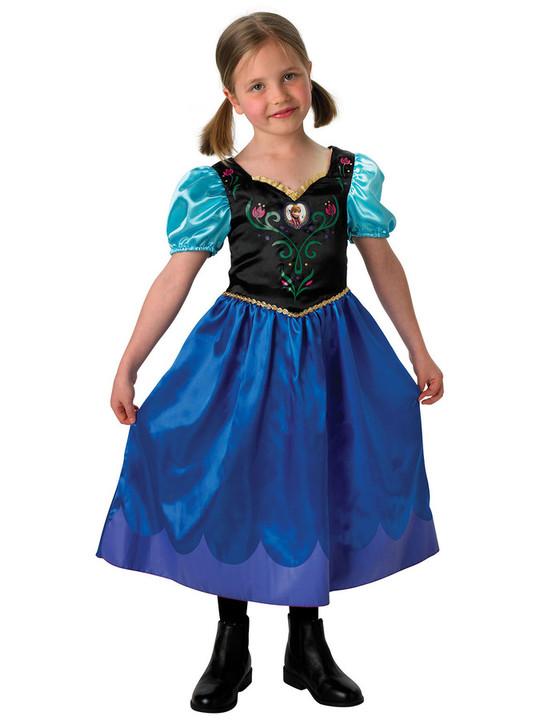 frost kjole frost udklædning frost kjole anna frost annas kjole fastelavn