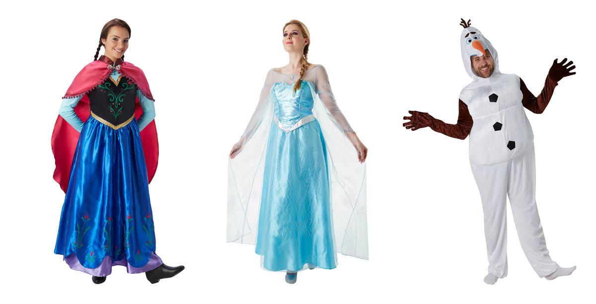 Frost kostume til voksne Frost 2 Er du en Anna eller en