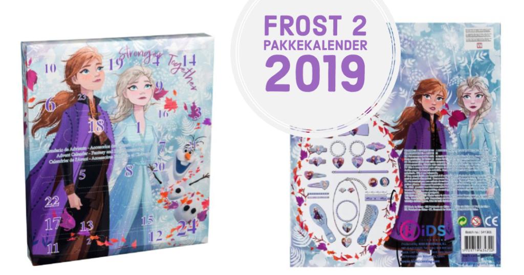 frost 2 pakkekalender frost2 pakkekalender frozen julekalender frozen 2 julekalender frost 2 kalendergaver