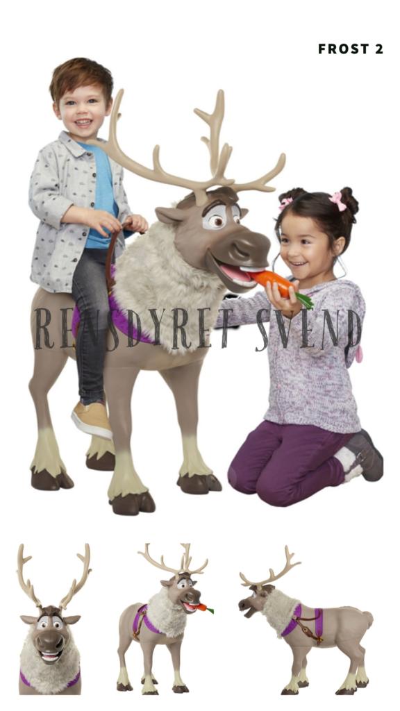rensdyr svend rensdyret svend legetøj frost 2 legetøj rid på svend indret Frost børneværelse med svend rensdyr