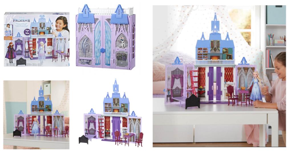 frost 2 dukkehus frost 2 gave til frost prinsesser magisk dukkehus fra Arendal to go dukkehus elsa Anna hjem