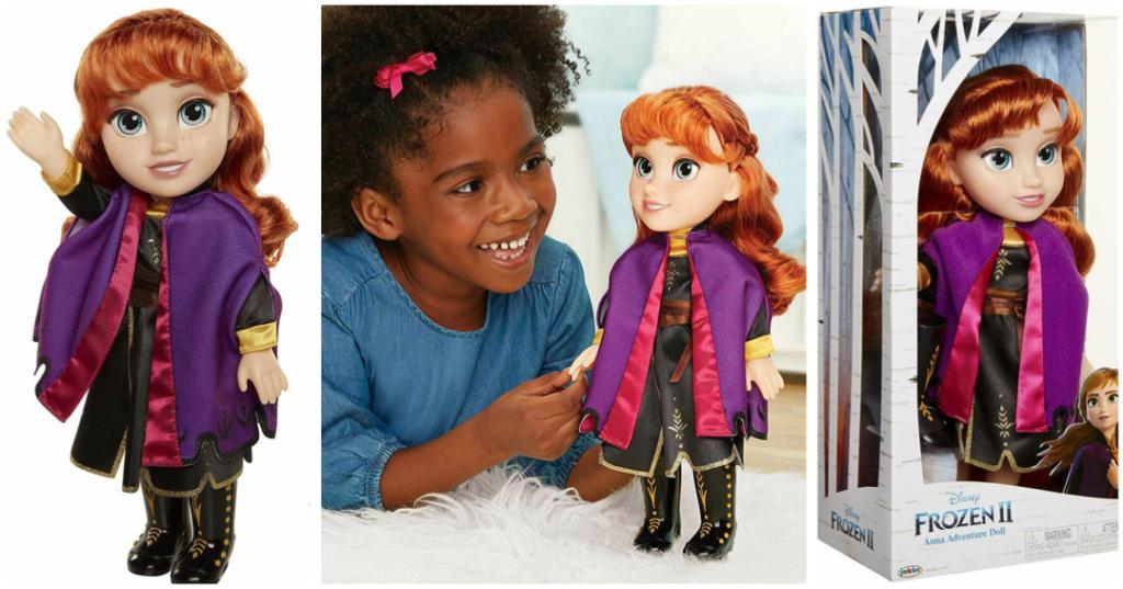 frost 2 dukke anna stor anna dukke med tøj frozen 2 dukke