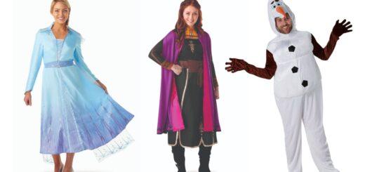 frost 2 kostume til voksne fastelavnskostume disney 2019 anna kjole til voksne elsa kjole til voksne