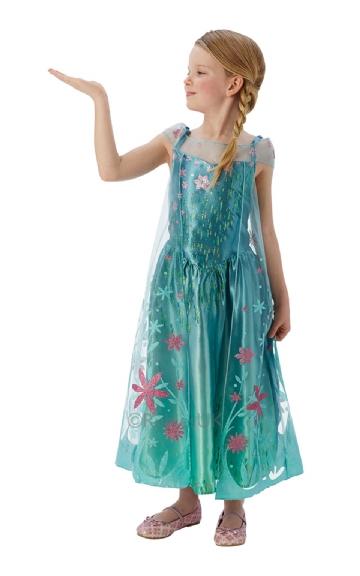 Elsa frost kostume Frost Feber Frozen Fever elsa udklædning