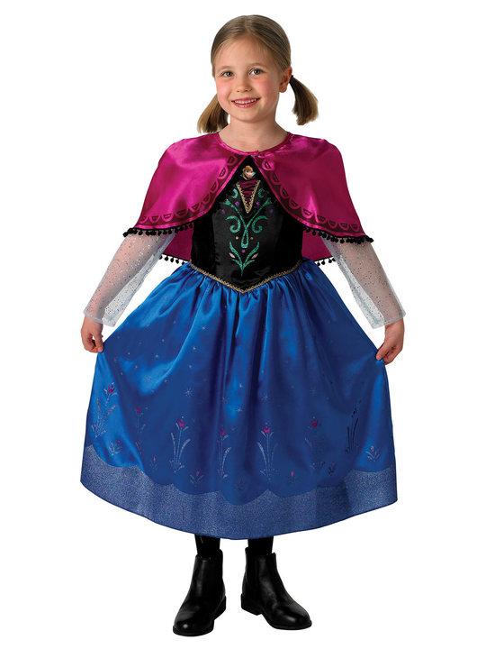 anna kostume til børn anne frost udklædning frozen anna kostume fastelavnskostume