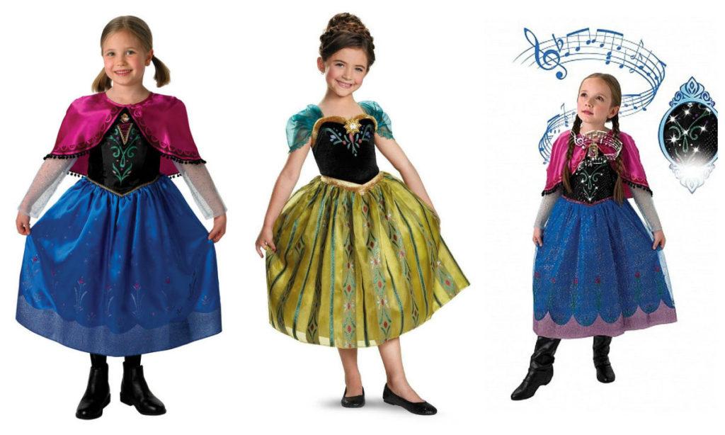 anna kostume til børn frost anna udklædning til prinsesser fatelavnskostume anna