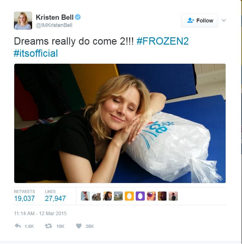 hvornår udkommer frost 2 dansk premiere dato frost2