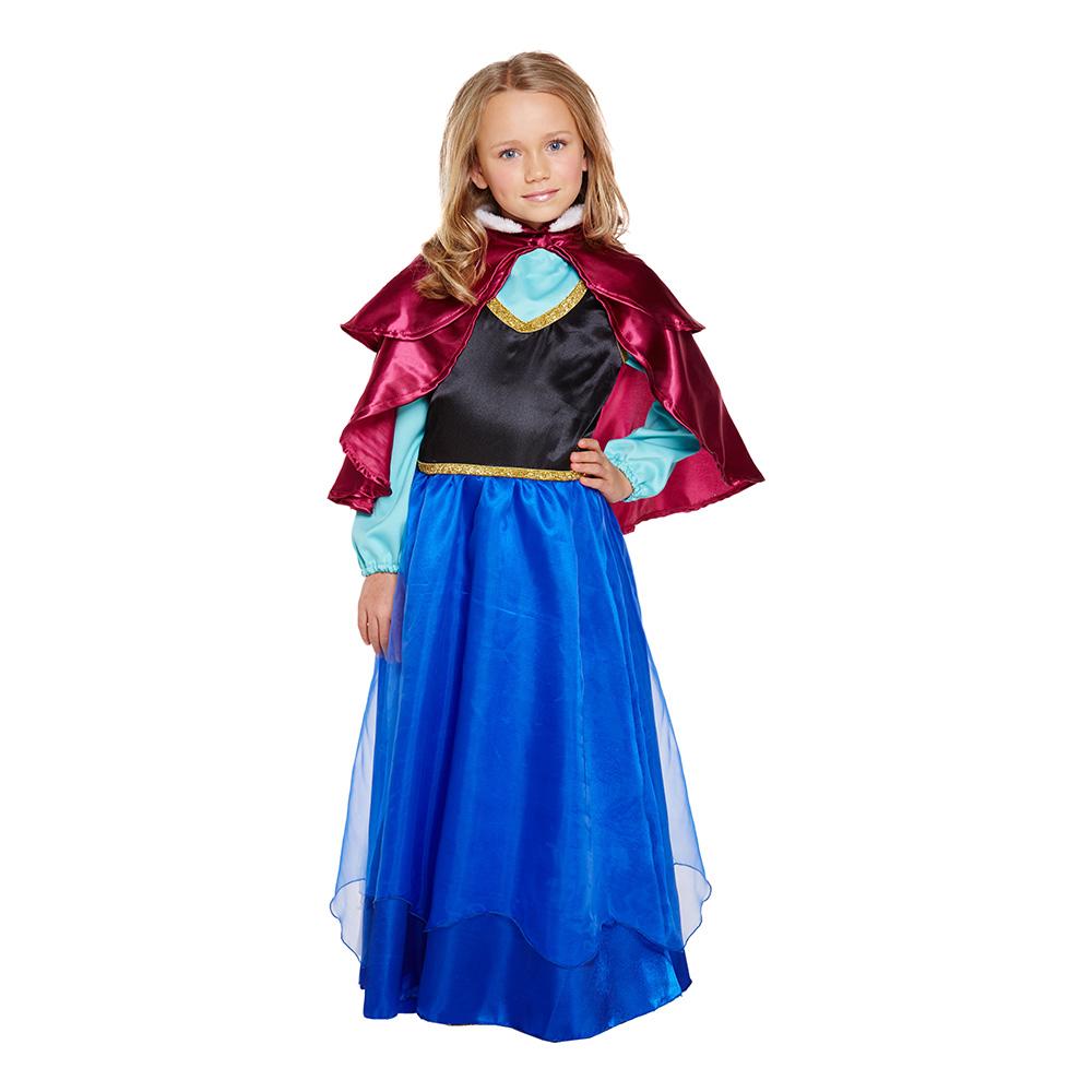 anna frost kostume til børn anna fastelavnskostume til børn frostprinsesse frost2 luksus frost kostume til børn kostume på tilbud
