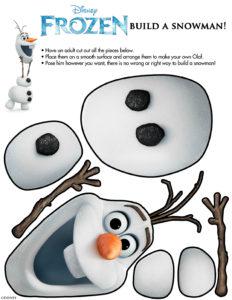 byg din egen olaf snemand mens du venter på frost 2 hvornår kommer frost 2 frost2 dvd frost release dato