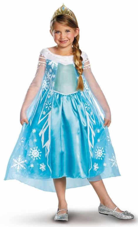 elsa frost kostume elsa fastelavnskostume disney frozen elsa kjole dronning elsa af arendal kostume