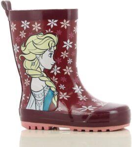 bergundy gummistøvler elsa frost 2 gummistøvler med elsa røde gummistøvler med elsa