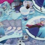 Frost Børnefødselsdag – bordpynt