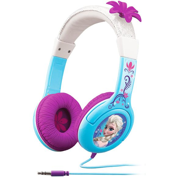 høretelefoner til børn frost elsa headset til børn eKids frozen høretelefoner elsa høretelefoner til børn lilla høretelefoner til børn disney hørebøffer høretelefoner lilla
