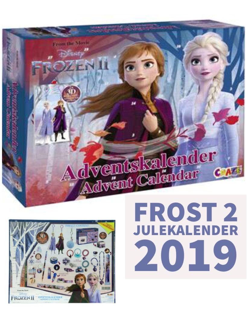 kalendergaver med frost 2 julekalender med elsa pakkekalender med elsa frost2 julekalender frost 2 julekalender frozen 2 pakkekalender