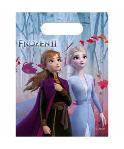 Frost 2 fødselsdag Frost 2 fest Frost 2 børnefødselsdag Frozen 2 slikposer