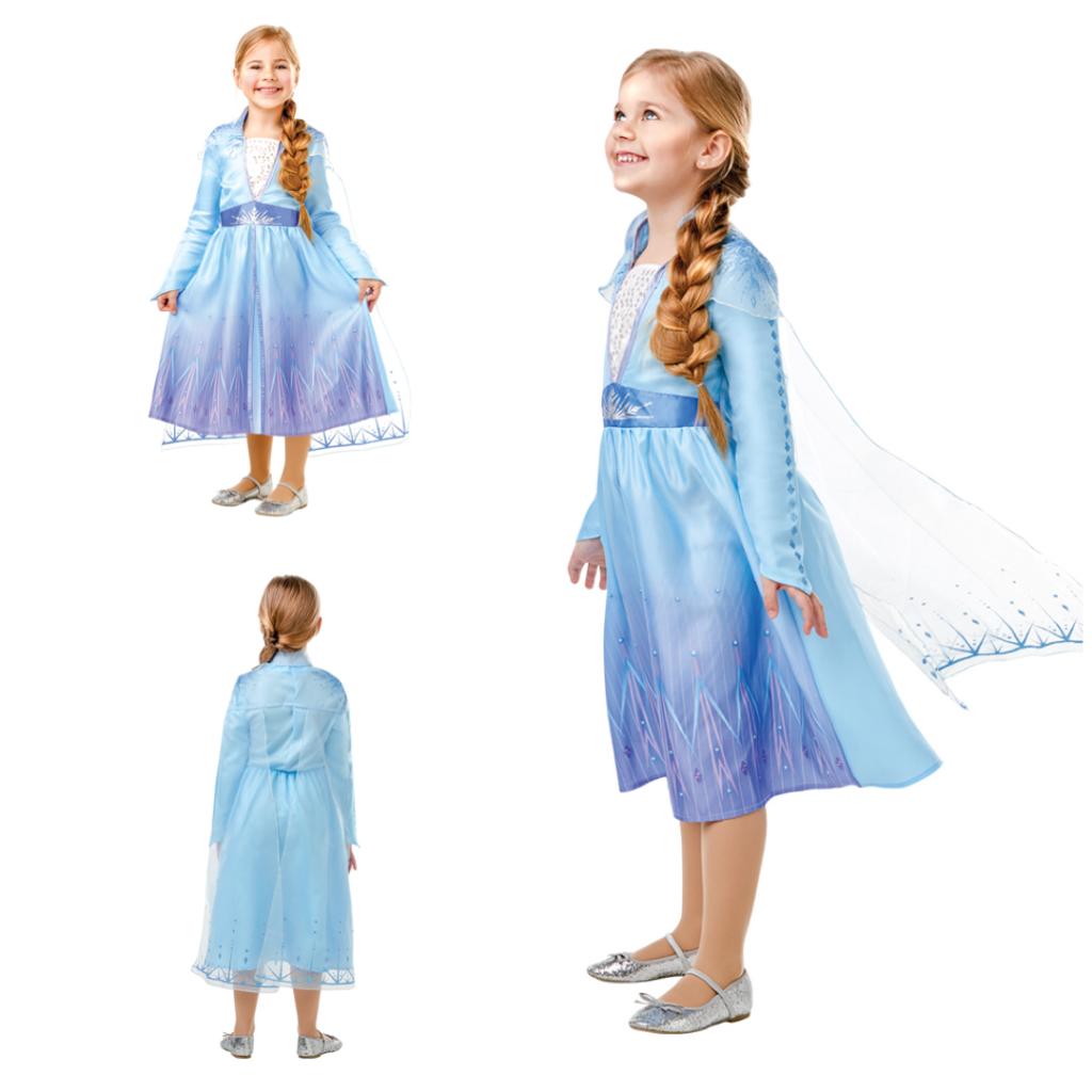 elsa børnekostume frost2 kjole frozen2 udklædning elsa arendal
