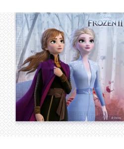 Frost 2 fødselsdag Frost 2 servietter Frost 2 børnefødselsdag elsa fødselsdag