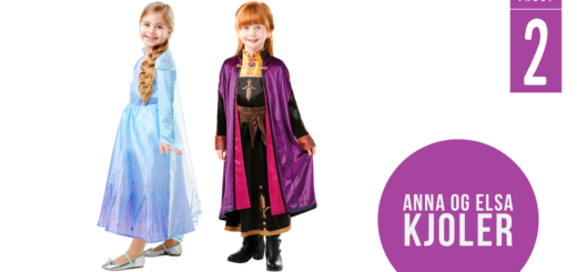 anna kjole frost 2 kostume børnekostume frozen2 udklædning fastelavnskostume