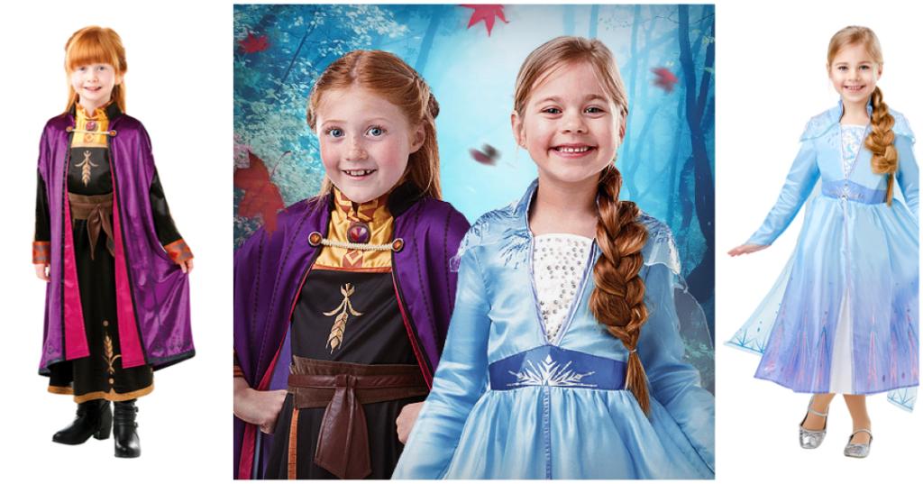 frost 2 kostume til børn frozen 2 kjole anna kjole til barn elsa kostume frost 2 barn børnekostume frozen 2