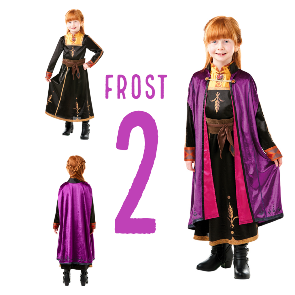 anna frost 2 kostume anna kjole fra frozen 2 prinsesse anna kostume frost 2