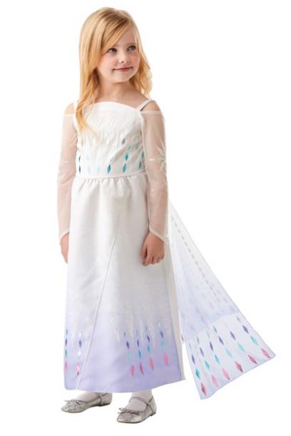 elsa epilog hvid elsa hjole hvidt kostume elsa frozen udklædning den hvide kjole dronning elsa frost 2 udklædning elsa
