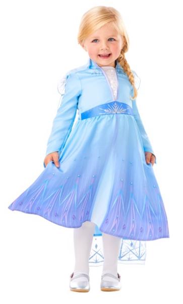 frost udklædning elsa kjole 2 år elsa udklædning 3 år elsa kostume elsa fastelavnskostume