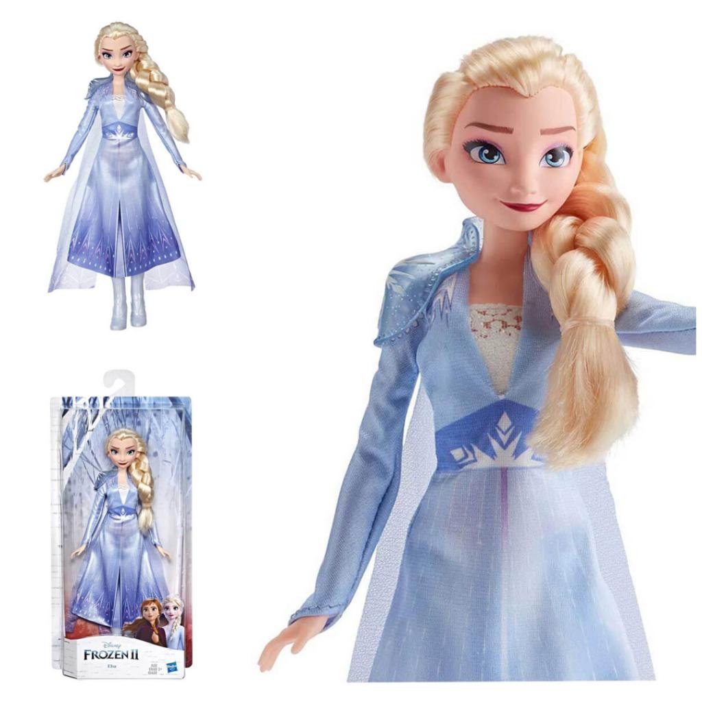 elsa dukke elsa frost 2 barbiedukke frozen 2 dukke til piger