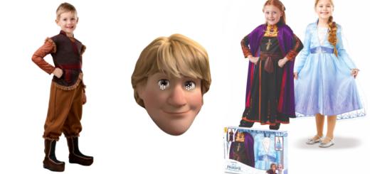 Kristoffer børnekostume Kristoff udklædning til børn Kristoffer kostume til drenge Frost 2 kostume til dreng Frost 2 fastelavnskostume
