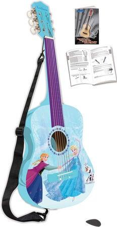 rigtig guitar med frost guitar med frozen motiv